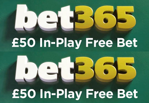£50 In-Play Free Bet Offer Champions League Final Bet365