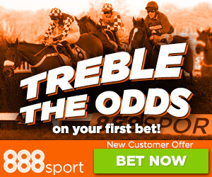 888Sport – Treble The Odds Betting Offers