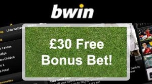 Bwin – £30 Free Bet Offer