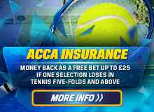 Coral acca insurance for FedExCup golf showdown