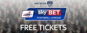 Skybet offering up free League 1 and League 2 tickets!