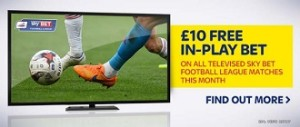 QPR v Brighton Free In Play Bet Offer from Sky Bet