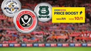 Sky Bet look to League One and Two for Soccer Saturday Price Boost