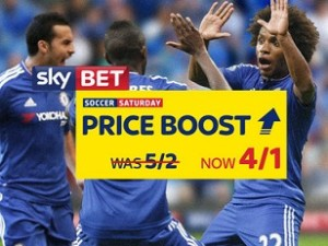 Sky Bet boost Chelsea, Arsenal and Everton all to win