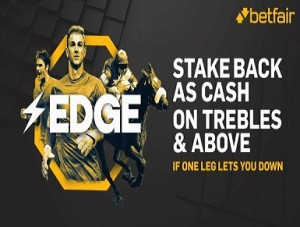 Betfair new Acca Edge concession refunds stakes as cash