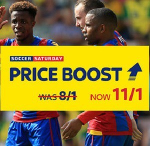Sky Bet offer 11/1 boost on Man City, Watford and Palace treble