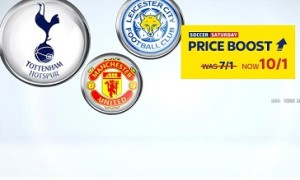 Sky Bet boost Spurs, Man Utd and Leicester treble
