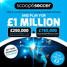 Betfred Scoop6 Soccer Promotion April 9th