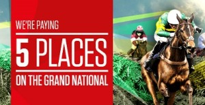 Ladbrokes Grand National 5 Place and Free Bet