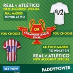 UEFA Champions League Final Free In-Play Bets!