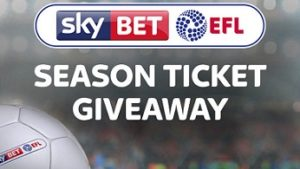 Sky Bet EFL season ticket giveway launched