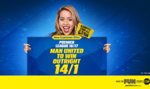 Coral go 14/1 on Manchester United to win Premier League