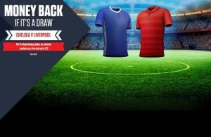 Ladbrokes Money Back Special for Chelsea v Liverpool