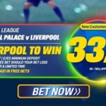 Coral boost Liverpool to 33/1 to take win at Crystal Palace