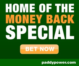 Paddy Power Money Back Special on all Premier League matches