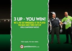 PDC Darts World Championship Betting Offer