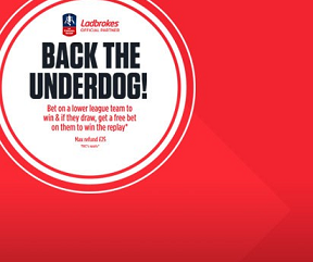 Ladbrokes FA Cup Back the Underdogs