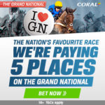 Coral go 5 Places on Grand National 2017