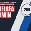 Chelsea 25/1 price boost at Ladbrokes to beat Spurs