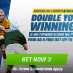 Coral Double Winnings offer for Australia v South Africa Rugby